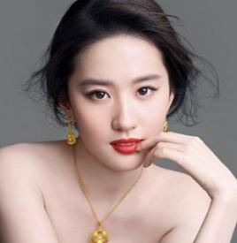 刘亦菲妆容画法,刘亦菲妆容画法教学课程,刘亦菲妆容图片