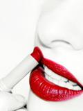红唇妆的画法,红唇妆怎么化