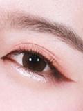 用眼影怎么画眼线,用眼影代替眼线的画法,用眼影画眼线图解
