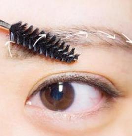 初学者怎样修眉毛,怎样修眉毛图解,修眉毛的技巧图解法