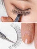 假睫毛怎么贴,粘假睫毛的步骤图解,假睫毛的贴法