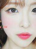 崔雪莉卧蚕眼妆怎么画 韩国桃花卧蚕妆仿妆