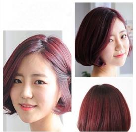 韩式可爱短发,韩式可爱短发图片,俏皮可爱短发发型图片
