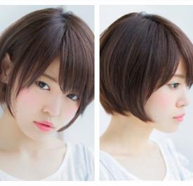 最新蘑菇头短发图片,最新蘑菇头发型女,短的蘑菇头女