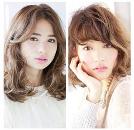 大圆脸适合什么样的发型,大圆脸女生适合的发型图片,大圆脸女生发型