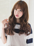 韩式长卷发发型图片 韩潮来袭让你一秒变清新女神