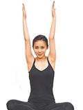 瘦手臂的瑜伽动作,瘦手臂的瑜伽动作图片,快速瘦手臂瑜伽