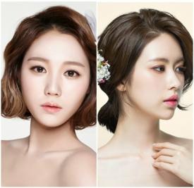 韩式短发新娘发型,韩式短发新娘造型图片,韩式短发新娘头发造型