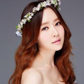 新娘卷发造型图片,韩式新娘卷发造型,新娘卷发发型图片