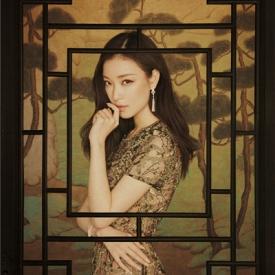 倪妮登开春杂志 古色古香演绎唯美气质