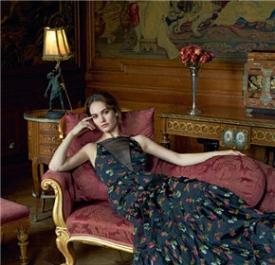 莉莉·詹姆斯梦幻长裙圆你公主梦