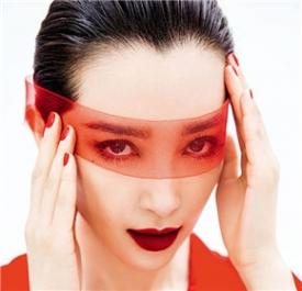 李冰冰芭莎封面写真红出女人风韵