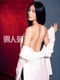 刘诗诗男人装挑战大尺度 深V蕾丝装大玩裸背诱惑(组图)