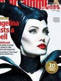 安吉丽娜朱莉《沉睡魔咒》造型登杂志 惊艳红唇犀利眼电力四射