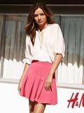 米兰达·可儿H&M2014春季广告代言照曝光