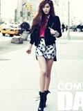 少女时代Jessica纽约写真  冰美人形象气场十足