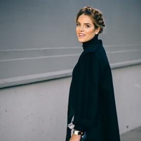 Julia Engel:西西里风女装穿搭示范图