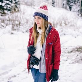 Julia Engel:冬季防风服保暖穿搭