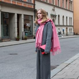 Elin Kling:oversize让街头多一抹温柔