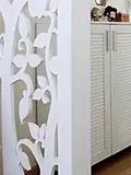 隔断设计效果图,隔断墙样式效果图,隔断墙装修效果图