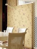 好看的家用墙面装修壁纸效果图 植物壁纸将春天贴上墙