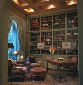 欧式书房装修设计效果图 感受别样风情