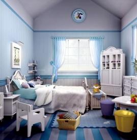 儿童房间装修设计效果图 童趣十足打造个性专属空间
